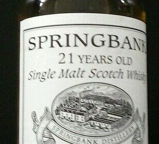 Springbank Whisky Private bottling