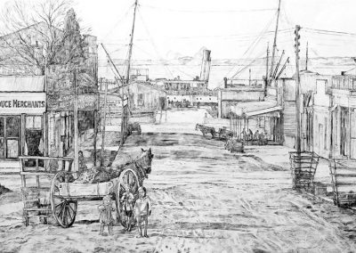 Raymond Jennings – Historic Wharf Street 1914