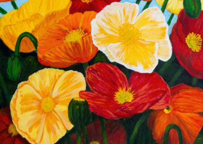Lynne Sinclair Taylor – Joyful Poppies