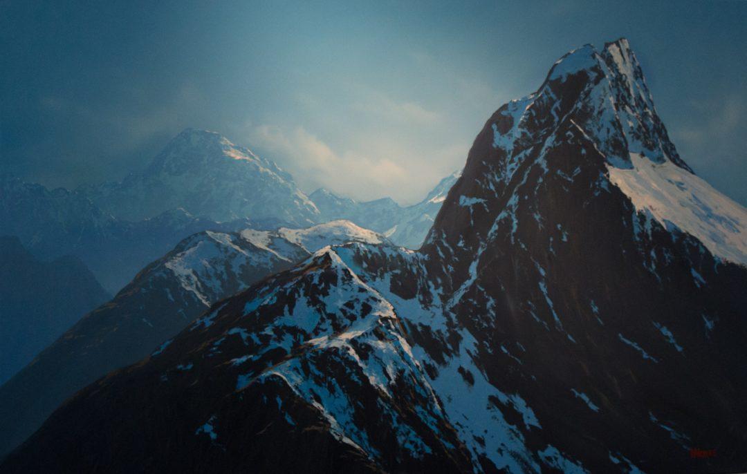 Wayne Vickers – Mount Tutoko and Mount Elliot, Fiordland