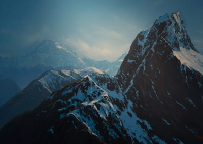 Wayne Vickers – Mount Tutoko and Mount Elliot, Fiordland