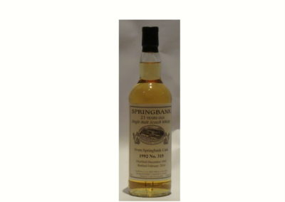 Springbank Whisky No.315