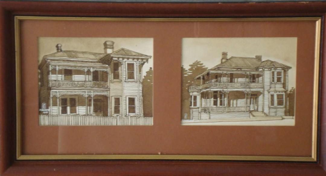 Peter Cramond Houses Jervois Rd