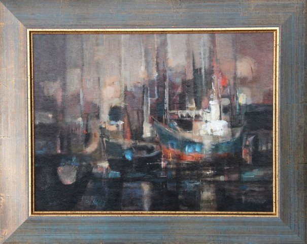 Harbour Boats Scene