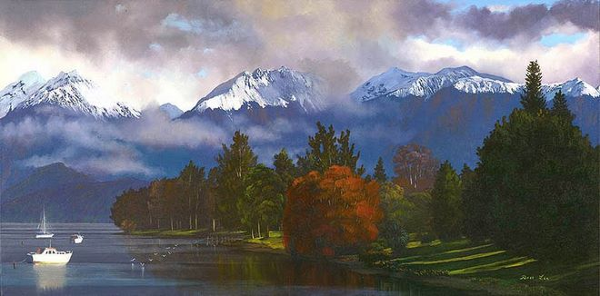 Ross Lee – Lake Te Anau